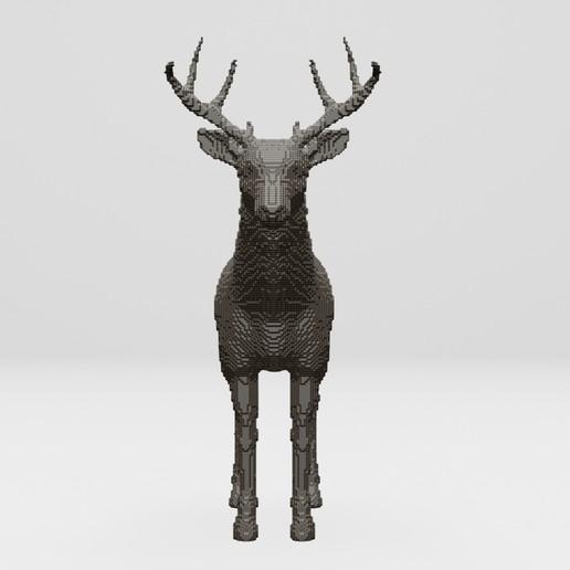 Télécharger fichier STL gratuit cerf - impression 3D • Objet pour imprimante 3D, ronnie_yonk