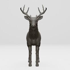 Download free STL file deer - 3D printing • 3D printer template, ronnie_yonk