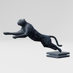 1.jpg Download free STL file Cheetah printable • 3D printable model, ronnie_yonk
