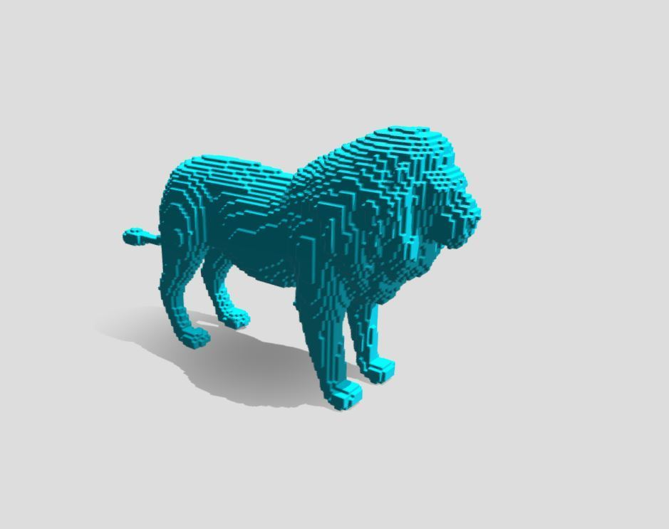 Capture 2.JPG Download free STL file Lion Stl  • 3D printable template, ronnie_yonk