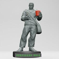 1.jpg Télécharger fichier STL Professeur Hulk 3D PRINTING • Design pour impression 3D, ronnie_yonk