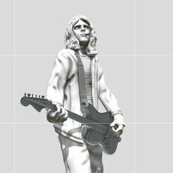 7.JPG Télécharger fichier STL Kurt Cobain - 3dprinting • Modèle pour imprimante 3D, ronnie_yonk