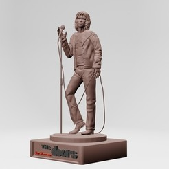 3.jpg Download STL file jim morrison,the doors -  3d model • 3D printing model, ronnie_yonk