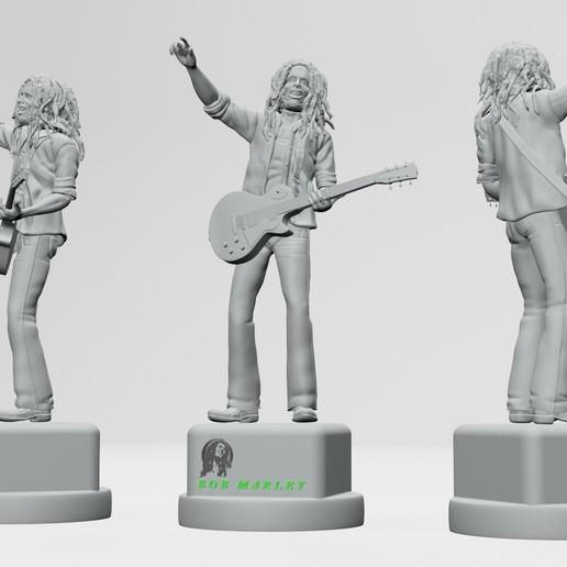 11.jpg Descargar archivo STL Bob Marley - Imprimible en 3D • Objeto imprimible en 3D, ronnie_yonk