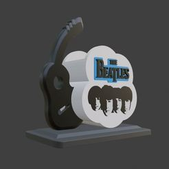 1.JPG Download OBJ file The beatles ( Stationary Storage ) • 3D printer model, ronnie_yonk