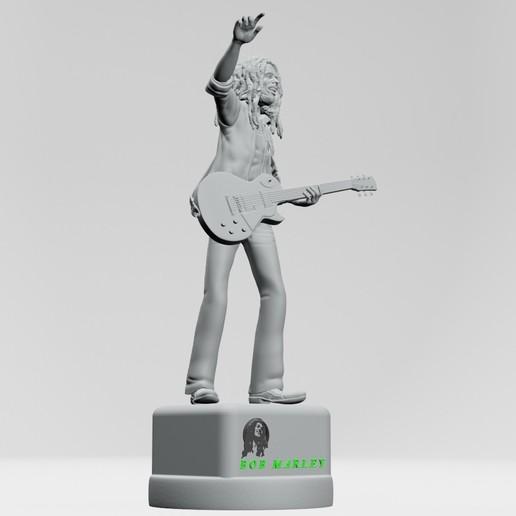 14.jpg Descargar archivo STL Bob Marley - Imprimible en 3D • Objeto imprimible en 3D, ronnie_yonk