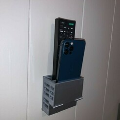 photo1.JPG Download free STL file REMOTE CONTROL RANGE / WALL MOUNTED TELEPHONE • Design to 3D print, OpenTech