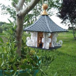 Download free 3D printing files Flowing Bird Temple, bebeloup9