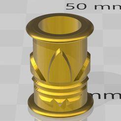 ADIDAS1.JPG Télécharger fichier STL Beard pearl , perle de barbe Adidas • Modèle pour imprimante 3D, miloo59