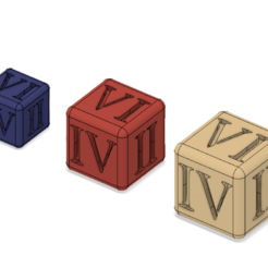 Dadi.png Download STL file DICE SET • 3D print design, sabri7_