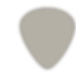 Télécharger fichier STL gratuit PIC DE GUITARE / PLETTRO / MEDIATORE, sabri7_