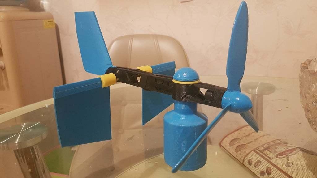 20200104_230210.jpg Download free STL file Wind vane fly • 3D printable model, Evgen3D
