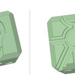 Download free STL file Necron dice warhammer 40k • 3D print design, Sofedar