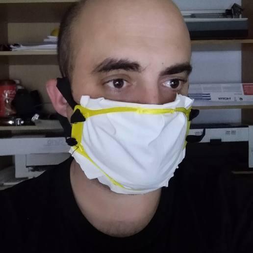 Download free 3D printing models mask, traca3d3