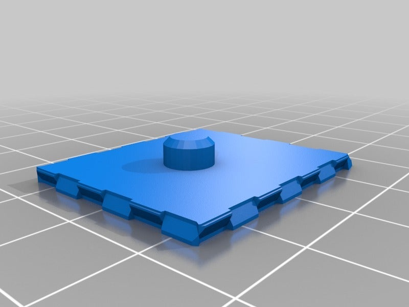 bdf7b5e2782ed39bf636ebdee78b3e40.png Download free STL file BuckleTiles Master Set, for use with BuckleBoards, the Open Source Building Block • Design to 3D print, tonyyoungblood