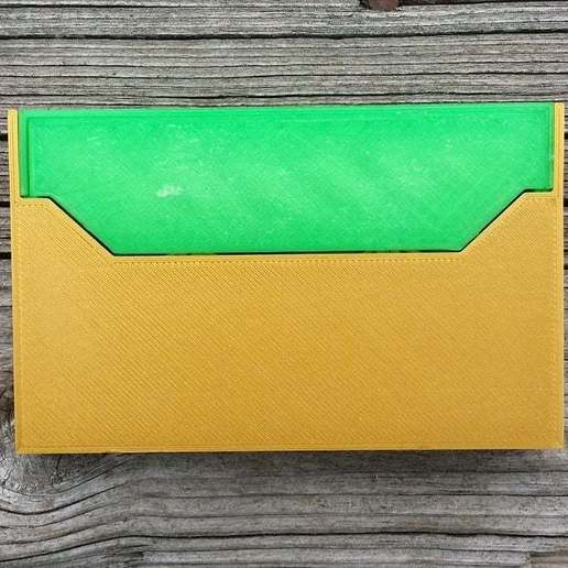 20150122_123036.jpg Download free STL file Cassette Tape Case / Holder • 3D printable model, tonyyoungblood