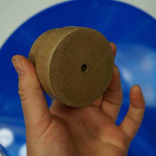 DSC01881.JPG Download free STL file Buck Thirty LP Record Stabilizer / Weight #GhostlyVinyl UPDATED 2014-11-23 • Template to 3D print, tonyyoungblood