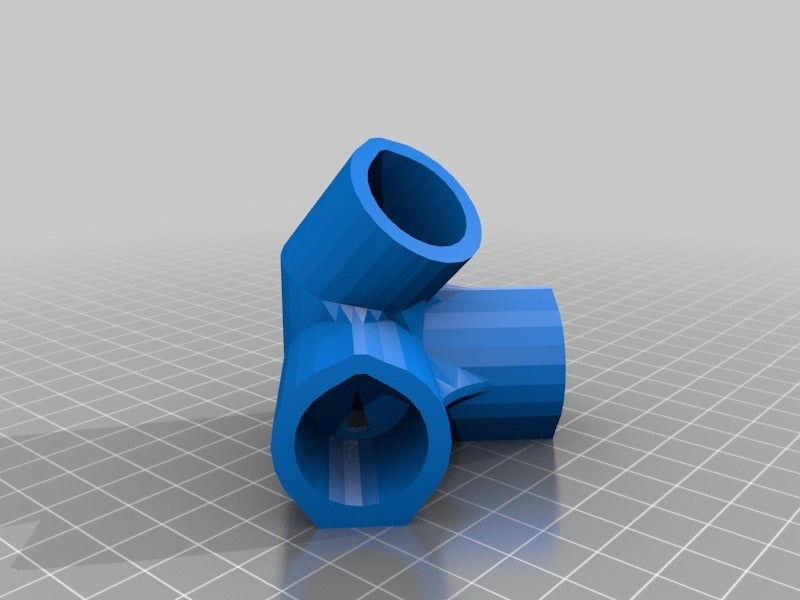 4WayElbowPyramid.png Download free STL file Pyramid Elbows & Topper, 1/2 Inch PVC Pipe Fitting Series #HalfInchPVCFittings • 3D printing model, tonyyoungblood