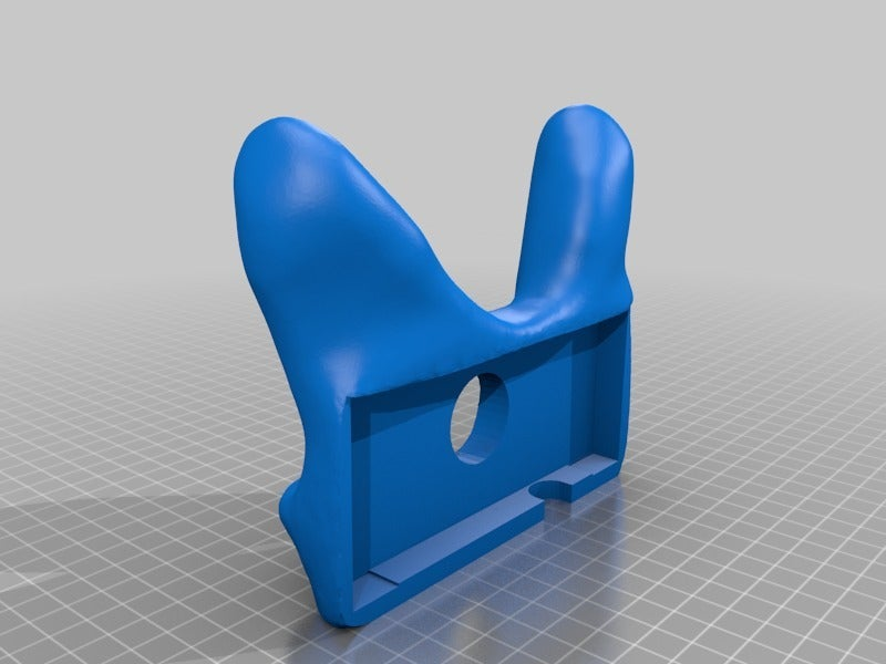 ebceb1b6c32dd26828004a3dc23349a4.png Download free STL file NES Controller Grip / Handle / Holder - Nintendo Entertainment System Gamepad • Template to 3D print, tonyyoungblood