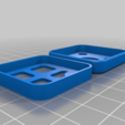 4a435163917f7642b35eb928d8fed194.png Download free STL file Tile Mate Bluetooth Tracker - Protective Case and Anti-Pocket-Presser • Model to 3D print, tonyyoungblood
