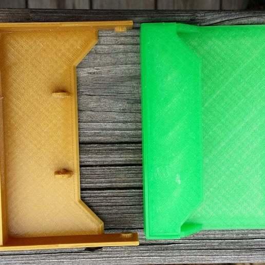 20150122_122923.jpg Download free STL file Cassette Tape Case / Holder • 3D printable model, tonyyoungblood