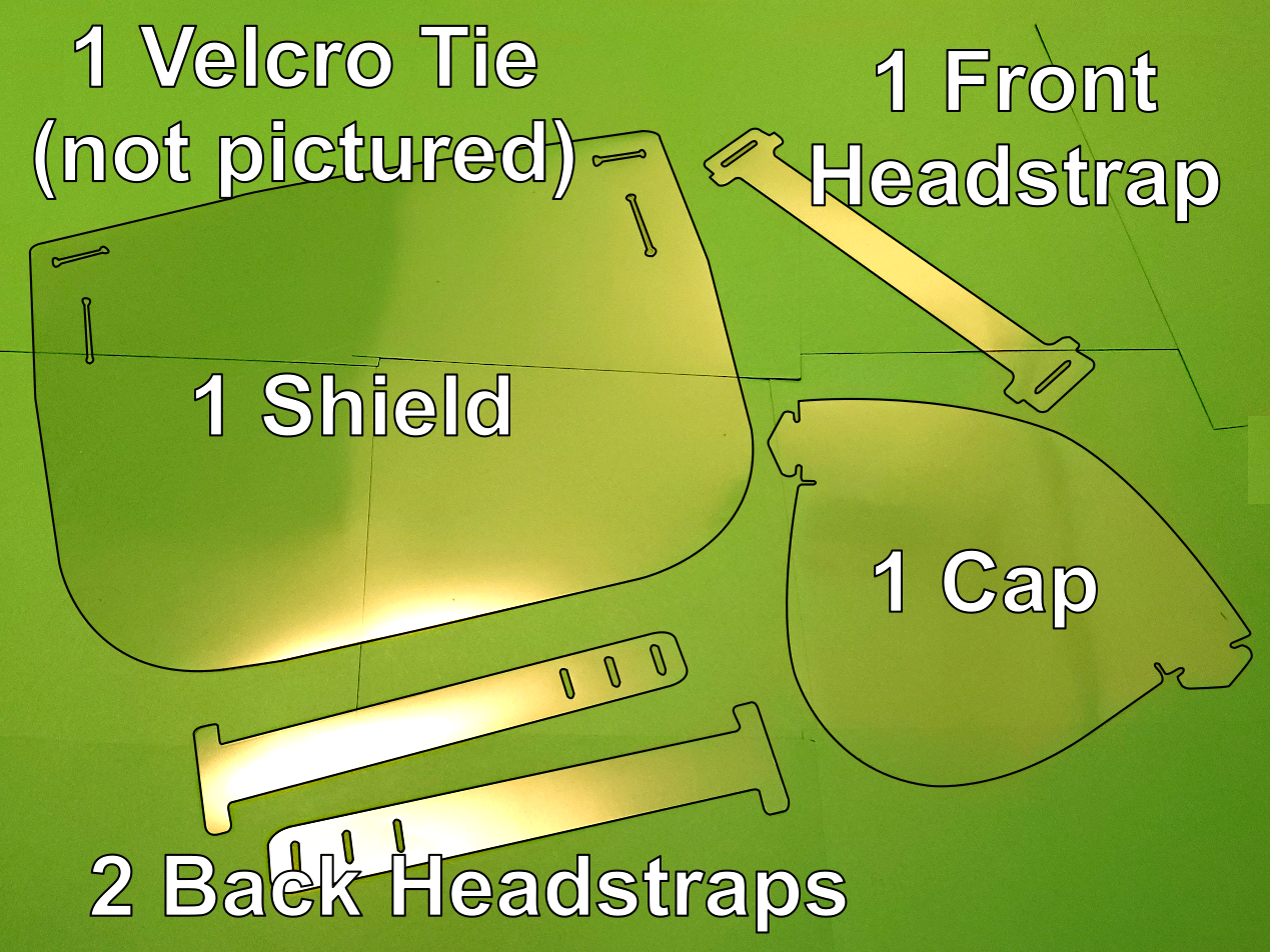 Step_01.png Download free STL file Cricut DIY Face Shield - Uses Binder Covers • 3D printable model, tonyyoungblood