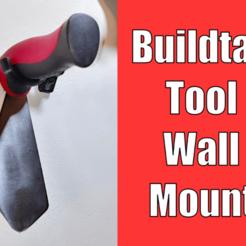 BuildTakWallMount.png Download free STL file BuildTak Spatula Wall Mount - Print Removal Tool Hanger • 3D printable design, tonyyoungblood