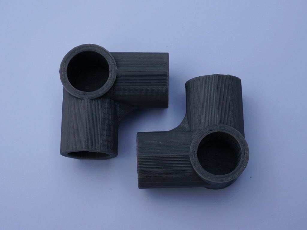 3WayElbow.JPG Download free STL file 3-Way Elbow, 1/2 Inch PVC Pipe Fitting Series #HalfInchPVCFittings - UPDATED 2015-02-02 • 3D printing template, tonyyoungblood