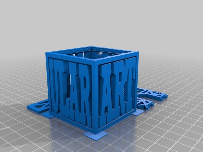 "PoddyAwardSmall.png Download free STL file Modular Art Pods ""The Poddys"" Award / Trophy #modularartpods • Design to 3D print, tonyyoungblood"