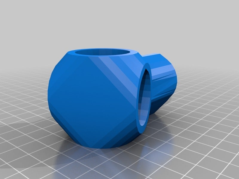 3Way22.png Download free STL file Reconfigurable 22.5 & 45 Degree 3-Way Elbows, 1/2 Inch PVC Pipe Fitting Series #HalfInchPVCFittings UPDATE 2015-07-03 • 3D printer design, tonyyoungblood
