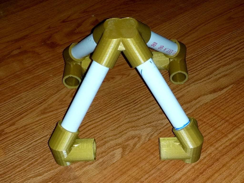 20150201_004455.jpg Download free STL file Pyramid Elbows & Topper, 1/2 Inch PVC Pipe Fitting Series #HalfInchPVCFittings • 3D printing model, tonyyoungblood
