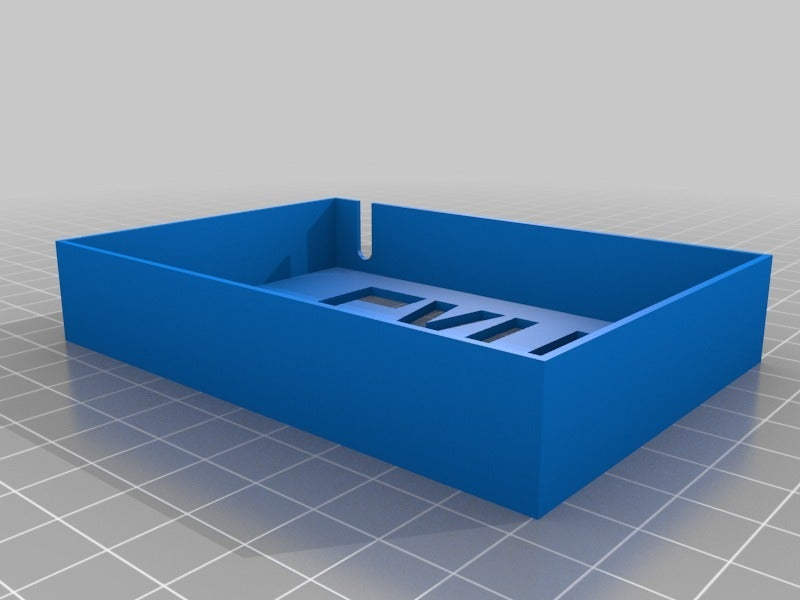 TinyExitFront.png Download free STL file Tiny Exit Sign with LED Light • 3D printing template, tonyyoungblood