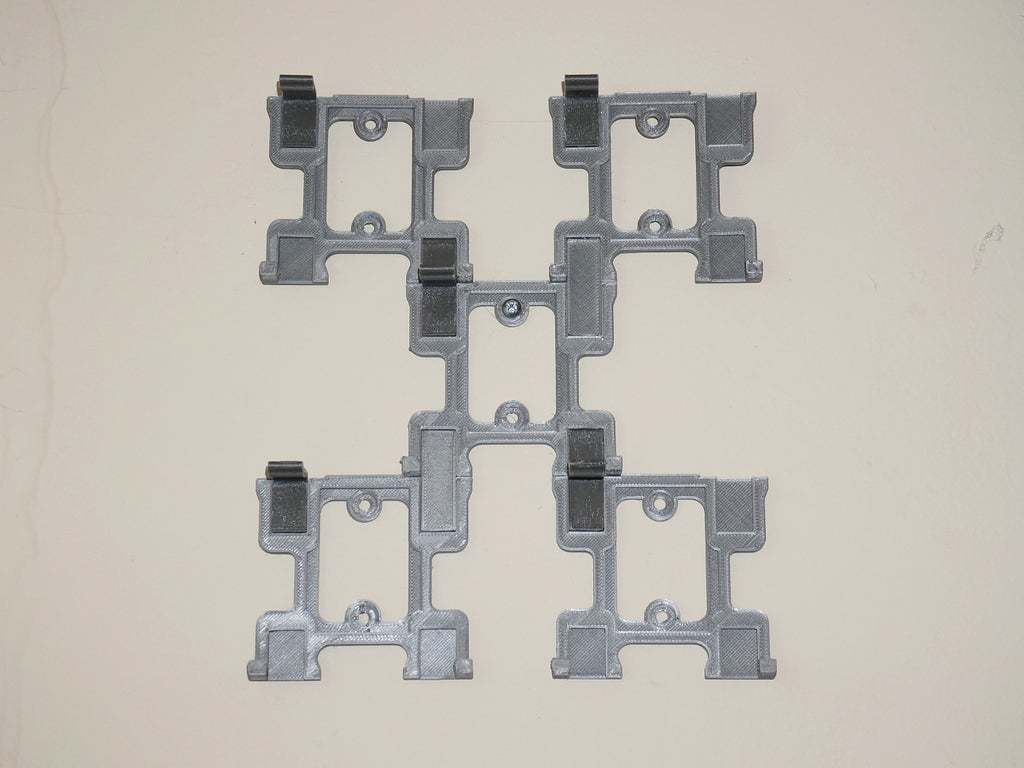 DSC03979.JPG Download free STL file Sega Genesis Game Wall Hangers - Modular - Stackable • 3D printable design, tonyyoungblood