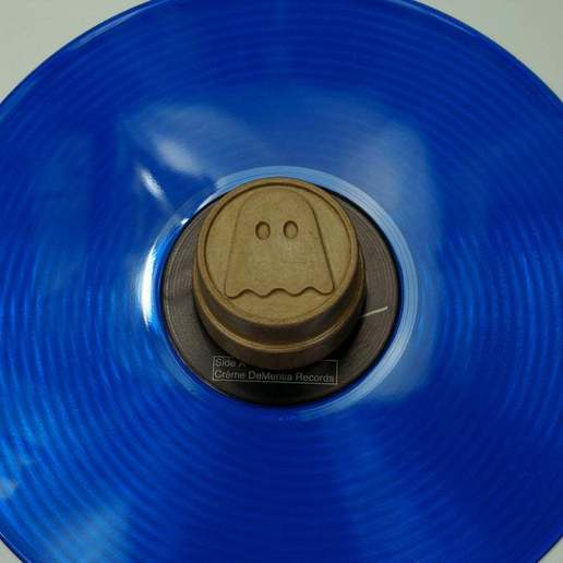 DSC01873.JPG Download free STL file Buck Thirty LP Record Stabilizer / Weight #GhostlyVinyl UPDATED 2014-11-23 • Template to 3D print, tonyyoungblood