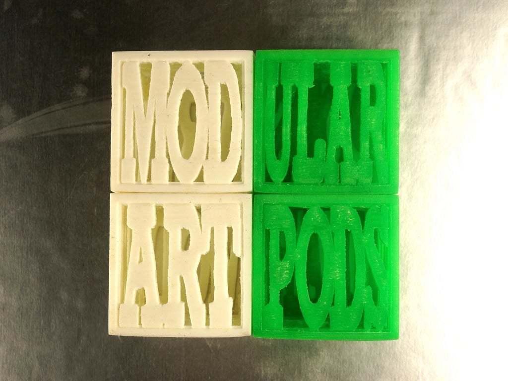 "DSC02443Small.JPG Download free STL file Modular Art Pods ""The Poddys"" Award / Trophy #modularartpods • Design to 3D print, tonyyoungblood"
