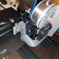 Descargar STL gratis Soporte de indicador de cuadrante para nivelación manual de la cama, ongaroo