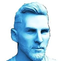 Descargar archivo OBJ gratis messi  Argentina busto • Diseño para imprimir en 3D, iphoneventaycompra
