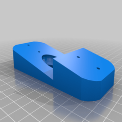 Download free 3D printing templates Nest Hello triple lap siding mount, tanker405th