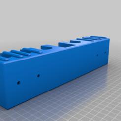 Télécharger modèle 3D gratuit Porte-rasoir 4 DE personnalisé, avec banque de lames et 2 porte-brosses, tanker405th