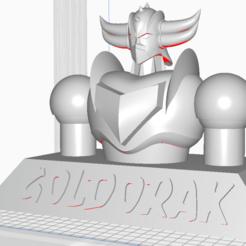 bust_goldorak.png Télécharger fichier STL Buste Goldorak • Design imprimable en 3D, KrisTobal