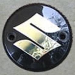 Imprimir en 3D Emblema del tanque Suzuki T20 T250, pieterjanvv