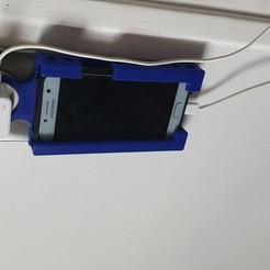 20200331_133220.jpg Télécharger fichier STL gratuit Support téléphone Recharge prise murale  • Plan pour imprimante 3D, boiletbruno