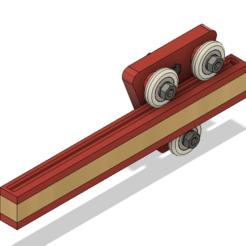 Slide.PNG Download free STL file Open Drawer - Guided Rail/Slide Carriage System • 3D print design, JoshRC