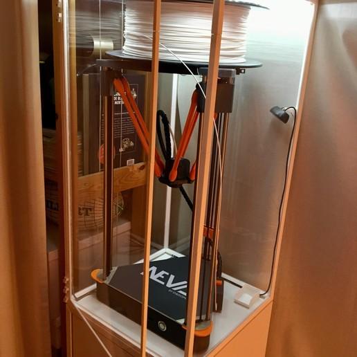Download free 3D printer templates Dagoma Neva / Magis protective box, GoblE