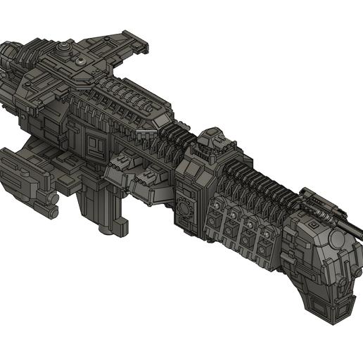 Download free 3D printer templates Mechanicus Cruiser, Italianmoose