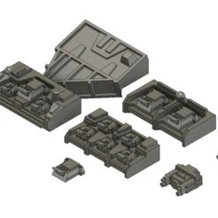 Descargar Modelos 3D para imprimir gratis Baterías de armas del caos, Italianmoose