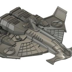 Impresiones 3D gratis Crucero ligero Tau, Italianmoose