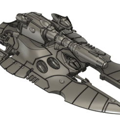 Cobra_cap_c.png Download free STL file Eldar Super-Heavy Tank 2 • 3D printable template, Italianmoose