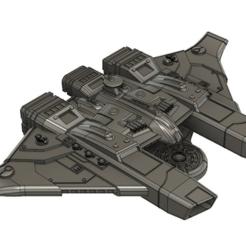 Imprimir en 3D gratis El portaaviones de la flota Tau, Italianmoose
