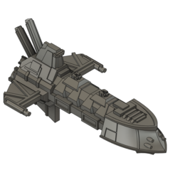 Descargar modelo 3D gratis Fragata de clase Havoc, Italianmoose